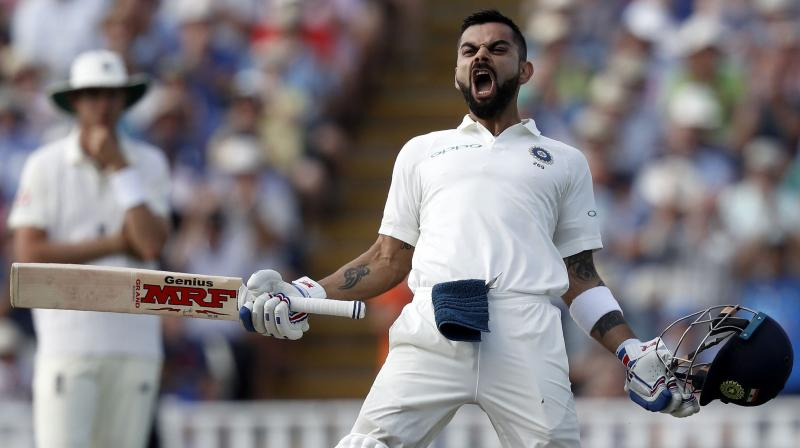 Kohli, who recently scaled to number one ranking in the Test cricket, has been in outstanding form, a glimpse of which was seen during the first Test of the ongoing five-match series against England in Edgbaston. (Photo: AFP)