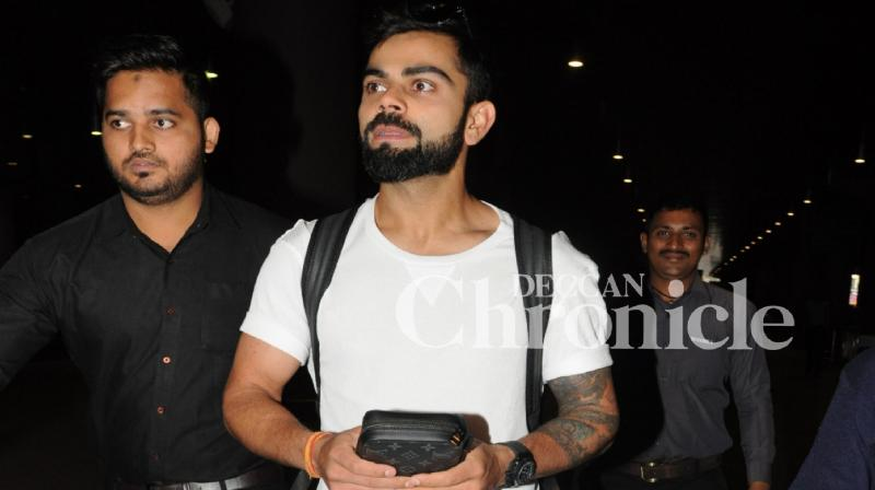 Virat Kohli Spotted At Airport Flaunting This Expensive