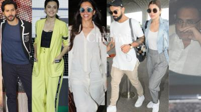 Bollywood stars were spotted in Mumbai by the cameras as they stepped out for various reasons on Monday. (Photo: Viral Bhayani)