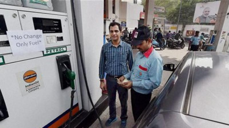 The government started the initiative of providing discount at petrol pumps on card payment, after demonetisation, owing to the cash crunch and to promote digital payment system. (Photo: PTI)