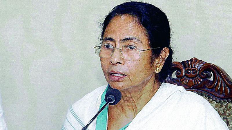 'A film has been released suddenly ahead of the elections...Accidental PM! Everyone is accidental PM. I fail to understand the meaning of accidental PM,' said CM Mamata Banerjee. (Photo: File)