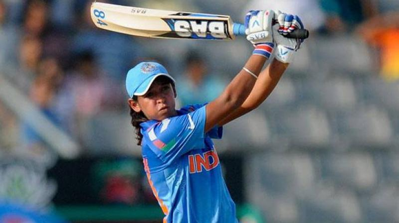 India's Harmanpreet Kaur was Monday named captain of the ICC Women's T20I Team of the Year, which also includes two of her compatriots Smriti Mandhana and Poonam Yadav. (Photo: BCCI)