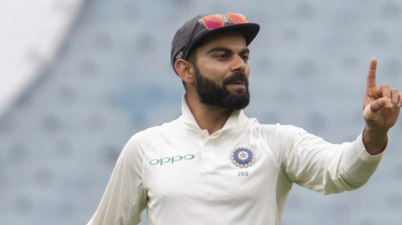 Kohli dropped three points despite a first innings score of 82 in the third Test against Australia in Melbourne, but still enjoys a 34-point lead over nearest rival Kane Williamson of New Zealand. (Photo: AP)