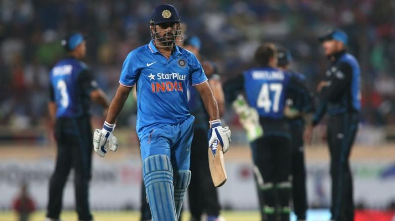 Guptill's blitzkreig at the top of the order helped New Zealand defeat India in MS Dhoni's home ground. (Photo: BCCI)