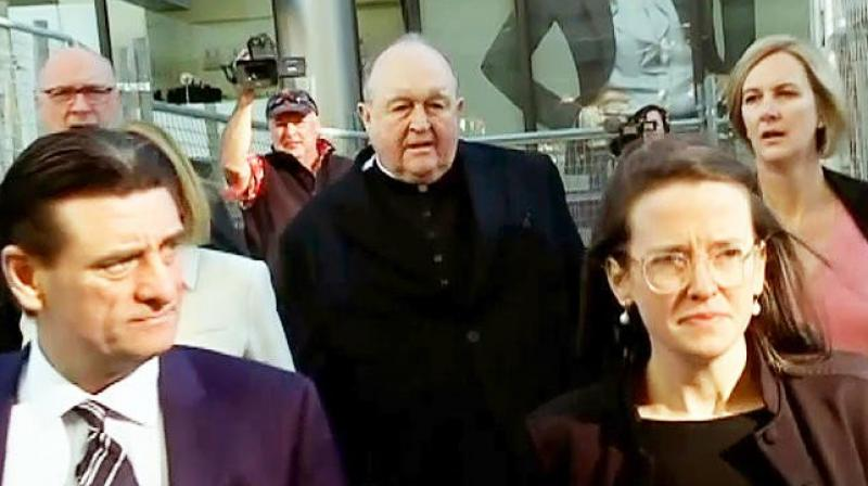 Wilson was accused of covering up a serious indictable offence by another priest, James Fletcher, after being told about it in 1976 when he was an assistant parish priest in the state of New South Wales. (Photo: AP)