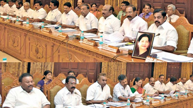 TN Cabinet meeting on December 24!