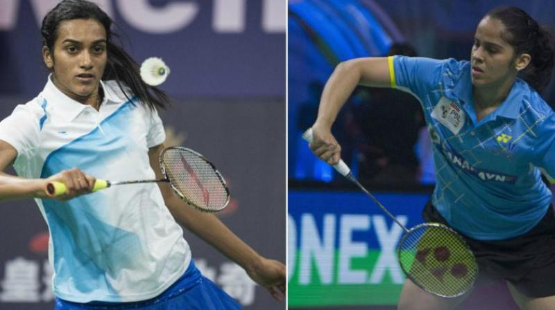 In the women's singles rankings, PV Sindhu and Saina Nehwal are static at sixth and ninth positions respectively. (Photo: AFP / PTI)