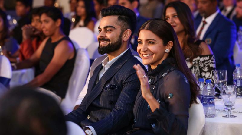 Here's what Virat Kohli said about wife Anushka Sharma during BCCI awards