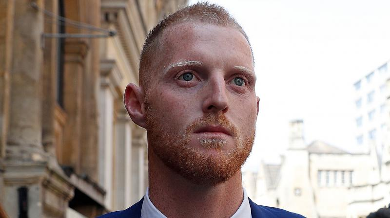 The court has seen security camera footage of Stokes, 27, brawling with Hale and Ali in a Bristol street. (Photo: AFP)