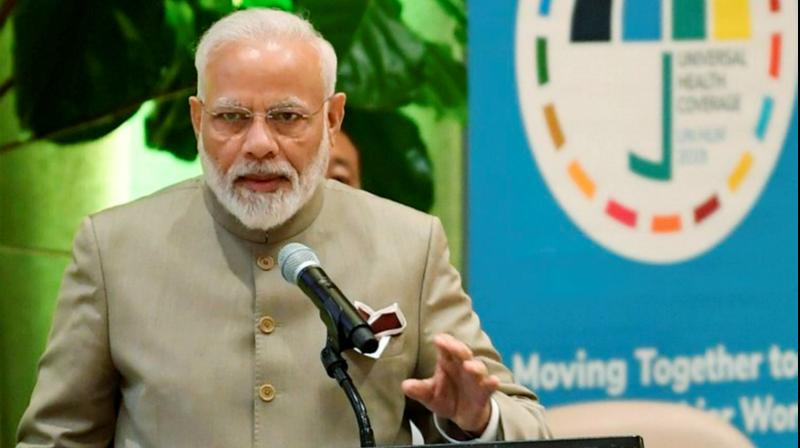 PM Modi made the comments while speaking at the Leaders' Dialogue on Strategic Responses to Terrorist and Violent Extremist Narratives at the United Nations headquarters in New York. (Photo: PTI)