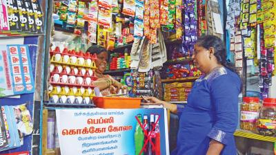 pension benefit will be extended to around three crore retail traders and shopkeepers with an annual turnover less than 1.5 crores. (Photo: DC)