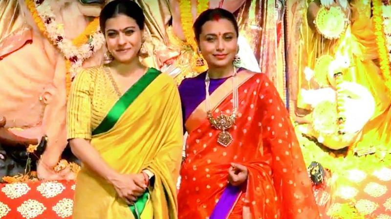 Kajol and Rani Mukerji