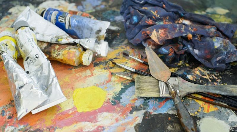 The painting is still being restored and is due to go on display later this year. (Photo: Representational/Pixabay)