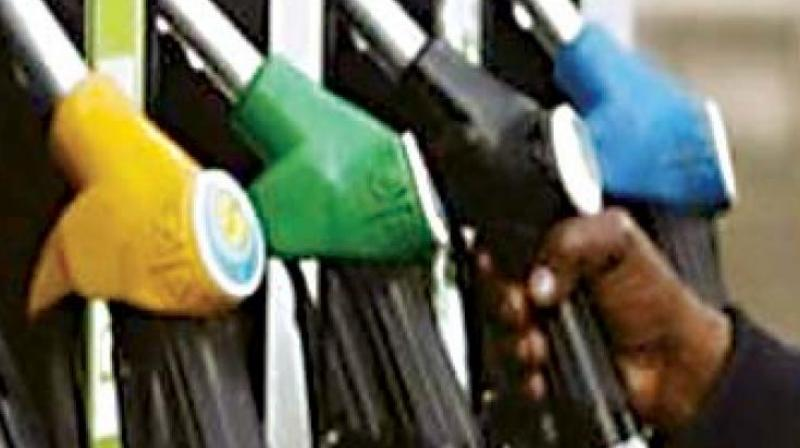 The ministry said that due to the increase in the international prices of petrol and diesel, during the last few weeks, the retail selling prices (RSP) of petrol and diesel at Delhi have risen to Rs 70.83 a litre and Rs 59.07 per litre respectively. (Representational image)