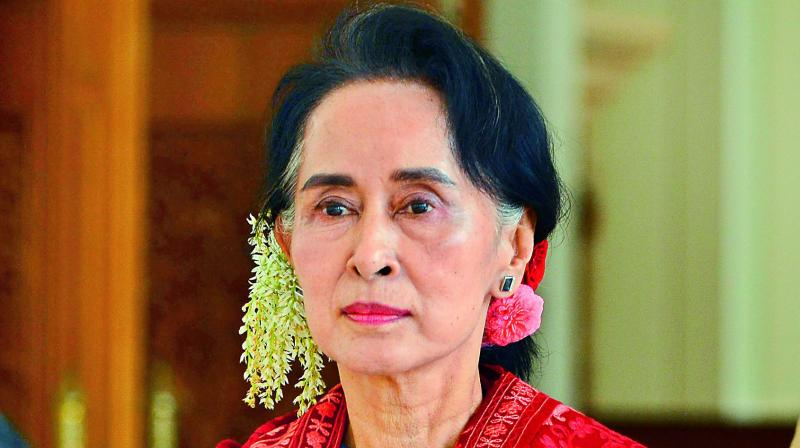 """Allegations are easy,"" Thaung Tun, a senior member of Suu Kyi's cabinet, said in a tweet on Dec.1. (Photo: File)"
