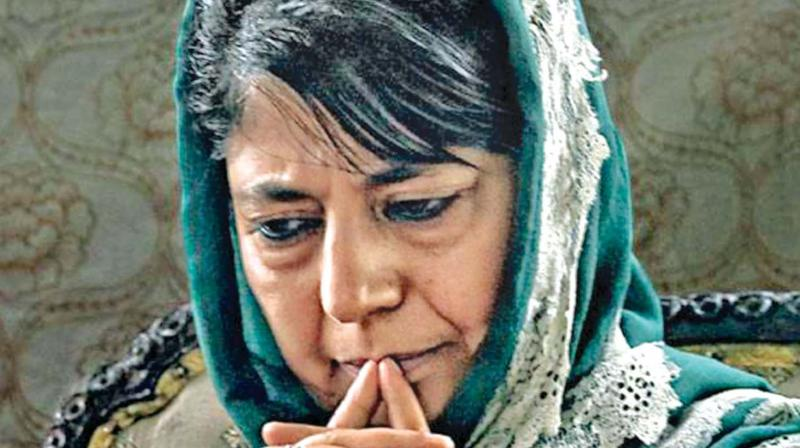 Writing from Mehbooba Mufti's official Twitter account, Iltija wrote, 'I, Iltija emailed the Home Secretary of GOI & Home Secretary of J&K on 18th September seeking certain information for my mother, Ms Mufti. I am still awaiting a response.' (Photo: File)