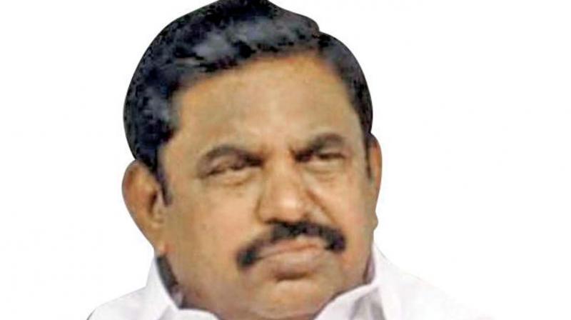 TN Chief Minister Edappadi K. Palaniswami