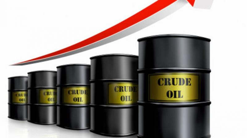 International Brent crude futures were at USD 66.87 per barrel at 0326 GMT, down 20 cents, or 0.3 per cent, from their last close.
