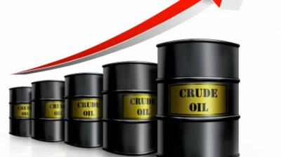 Globally, West Texas Intermediate crude prices rose 1.06 per cent to USD 56.22, while international benchmark Brent went up 0.36 per cent to USD 63.49.
