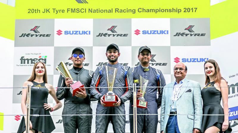 JK Tyre-FMSCI National Racing Championship: Anindith Reddy crowned racing champion