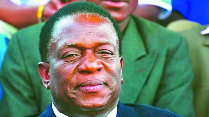 Zimbabwe's president Mnangagwa makes changes to his cabinet