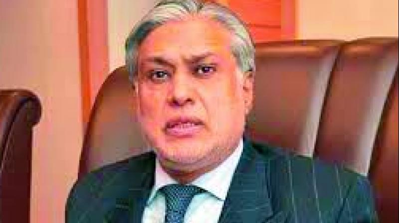 Ishaq Dar relieved of his duties as finance minister