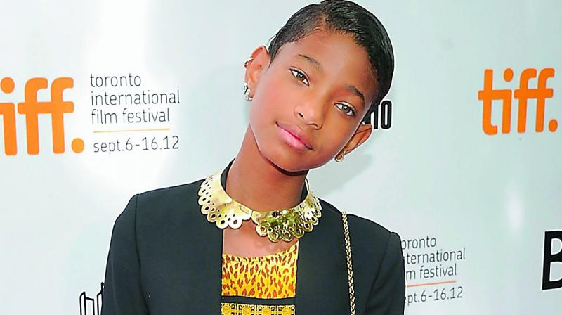 Willow Smith Says Growing Up In The Spotlight Is