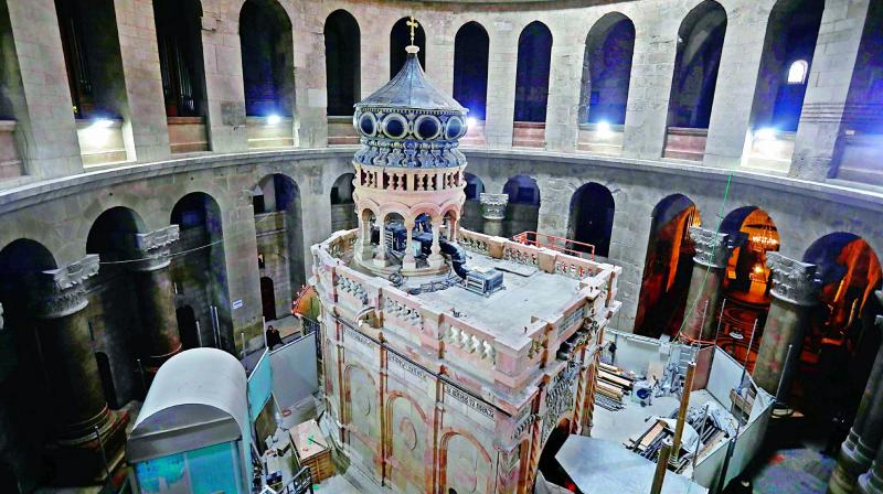 New tests at Jesus's presumed tomb back traditional beliefs