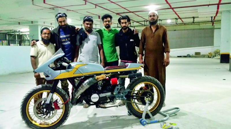 Syed Altaf, Mohit Chawda, Md. Abu Sufian, Gautam, Syed Zain and Bashit.