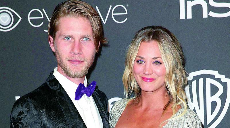 'Big Bang Theory' star Kaley Cuoco engaged to Karl Cook