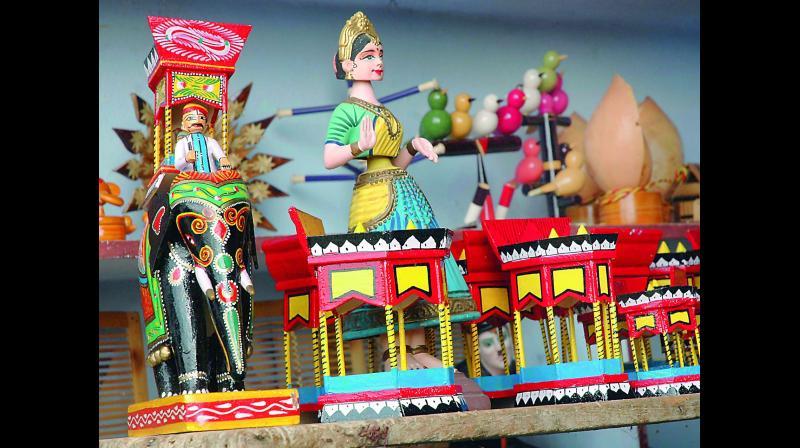 Kondapalli Toys Online Sales Up