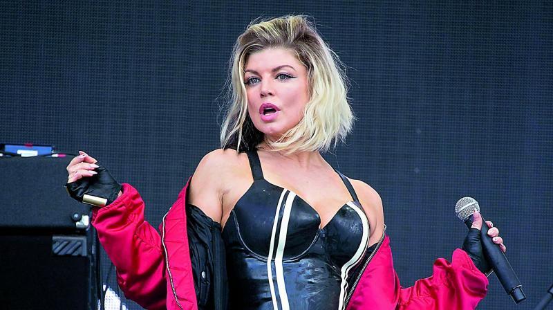 Former Black Eyed Peas member Fergie
