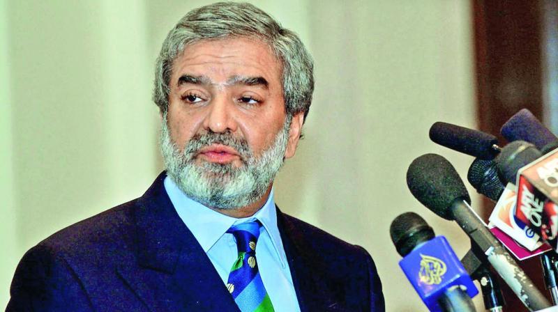 Former ICC President Ehsan Mani