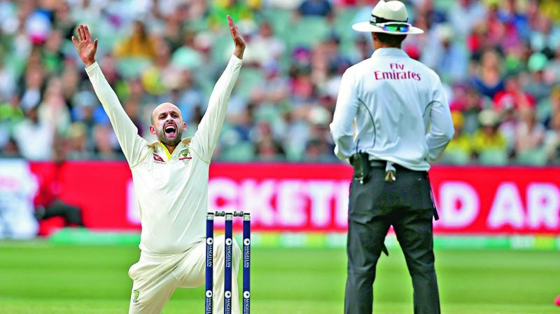 Nathan Lyon backed up his words with five wickets at the Gabba and an inspired piece of fielding to run out England number three James Vince.