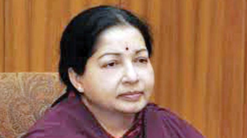 State jail officials submit Jaya's thumb impression in Madras HC