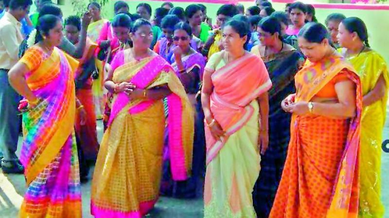 Adilabad is an agro-based district and also has minor minerals but the truncated Adilabad is only agro-based and she wonders why not promote agro-based industries. (Photo: DC)
