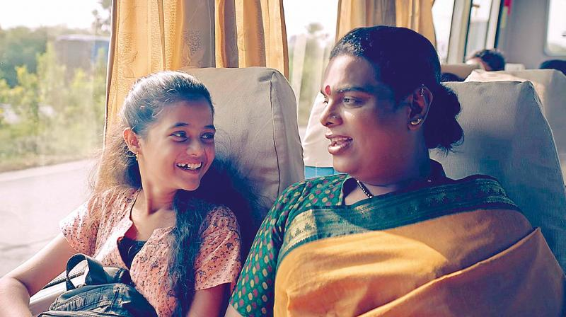 Gauri Sawant, the transgender mother who adopted Gayatri, an orphan, after her mother, a sex worker died of AIDS in Kolkata