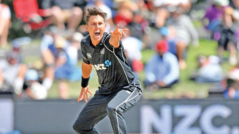 Trent Boult took a career-best 7/34 against  West Indies on Saturday. (Photo: AFP)