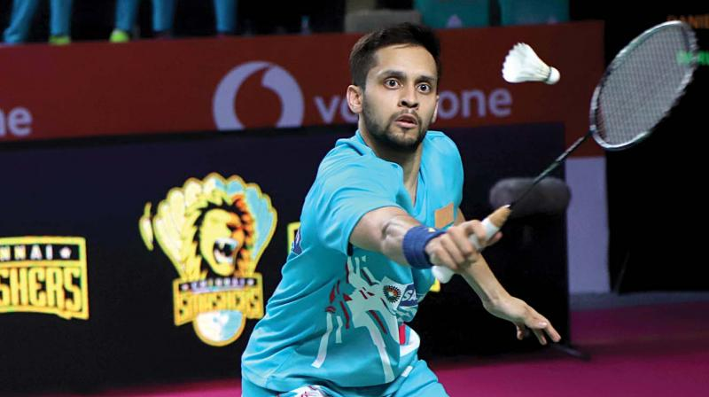 Parupalli Kashyap prevailed 21-17 11-21 21-12 in a contest that lasted 56 minutes. (Photo: File)