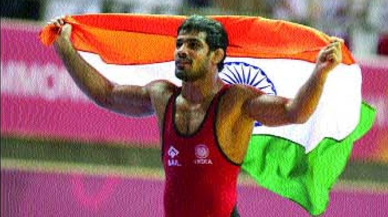 Indian wrestler Sushil Kumar