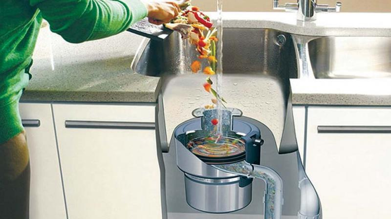 A Kitchen Pulveriser is an electric grinder installed below sthe kitchen sink (Picture for representation)