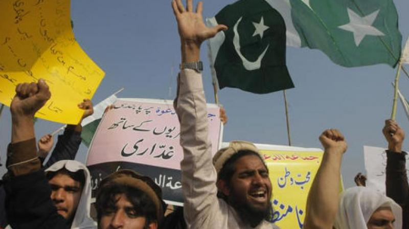 Protest in Pakistan (Representational Image)