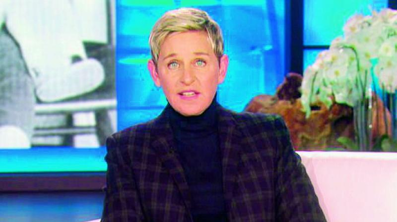 Elliott DeGeneres, proud father of Ellen DeGeneres