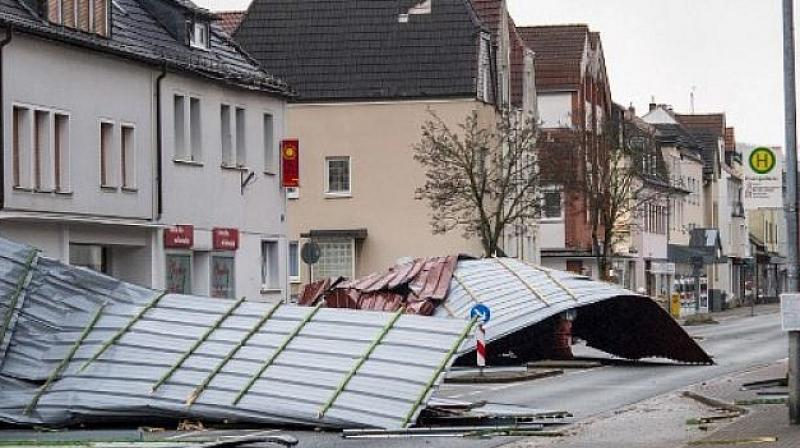 Storm caused 90M euros in damage: Dutch insurers