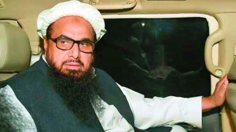 In December last year, the government had planned to take over two charities belonging to Hafiz Saeed  the JuD and the FIF and an action plan in this connection was supposed to be submitted. (Photo: File)