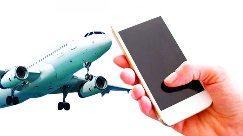TRAI recommends permitting mobile services during air travel