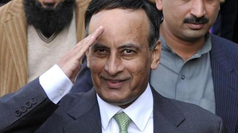 Former Pakistan envoy to US booked for 'maligning' Pakistan