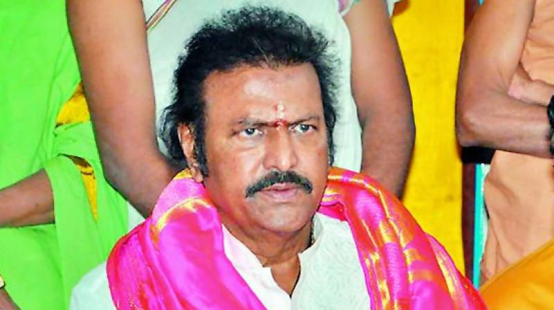 Mohan Babu is new temple Chairman