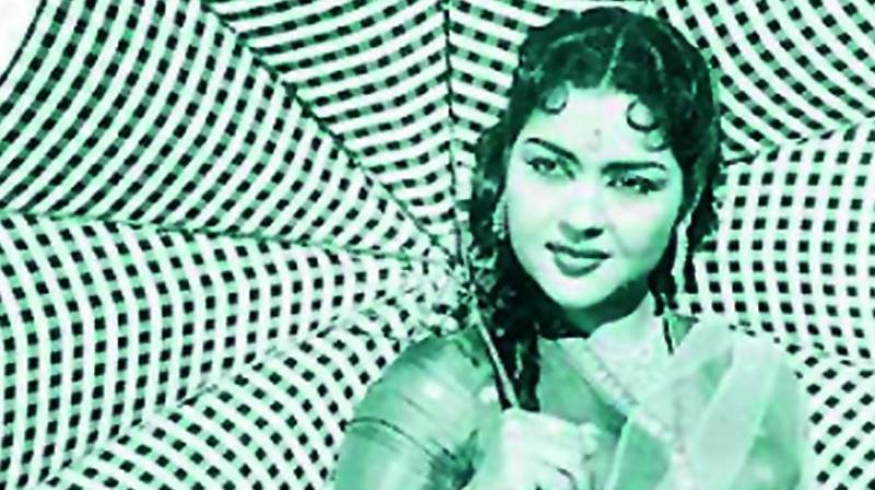 Actress Krishna Kumari
