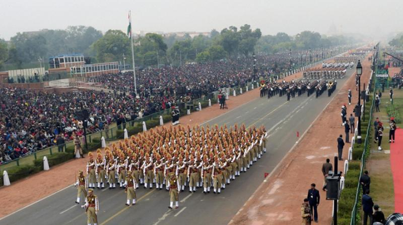 Image result for republic day parade pti